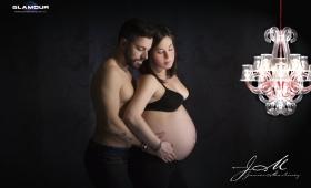 Embarazo de María y Santi